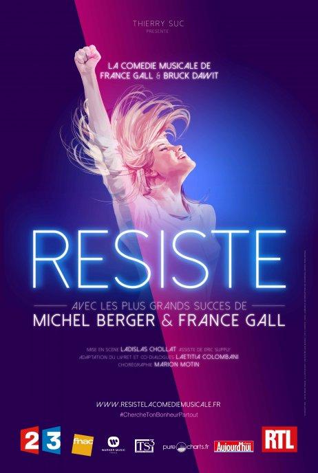 """Dominique Sappia, Kiné-Ostéo de la Comédie Musicale """"Résiste"""" de France Gall. Marseille 26 et 27 Février 2016"""