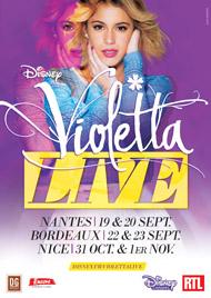 Vanessa Ohanian & Dominique Sappia, kinés de Violetta la star de Disney, pour ses 4 shows au Palais Nikaïa de Nice