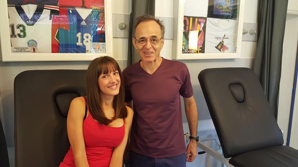 Stephanie Furfaro (L'Ile de la Tentation 6) & Jean-Jacques Goldman