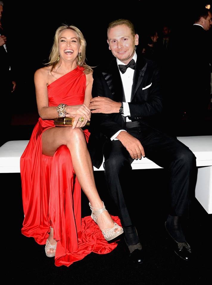 Sharon Stone. Festival de Cannes 2010