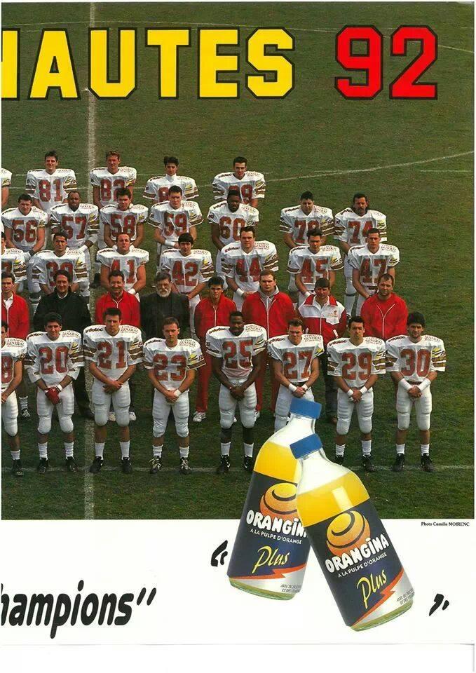 Argonautes d'Aix-en-Provence. 1992