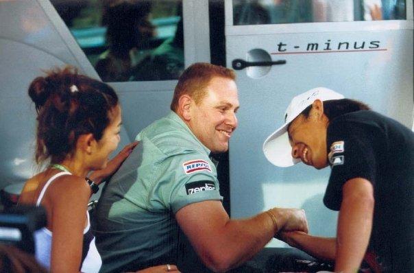 Toranosuke Takagi. Arrows Formula 1. 1999