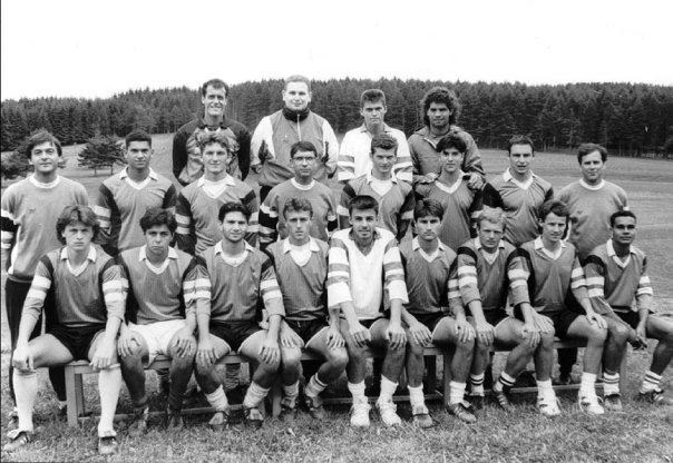 FC Istres. D2. 1992-1993