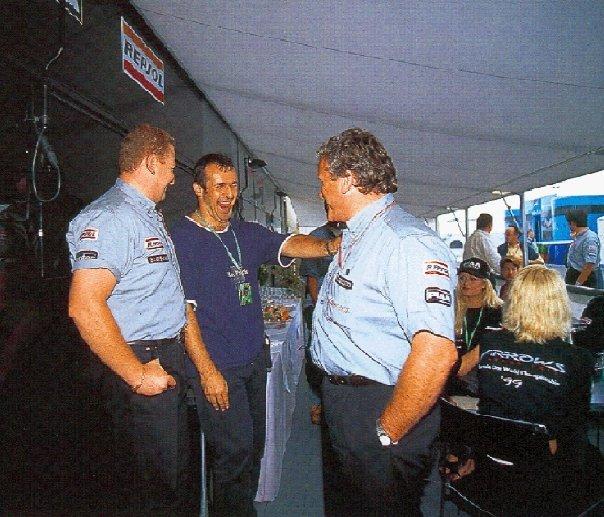 Philippe Saint André & Tom Walkinshaw. 1999