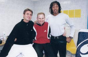 Open13. 2001. Fabrice Santoro & Jackson Richardson